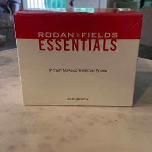 Rodan + Fields Essential Makeup Wipes.